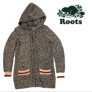 Roots | Zippered Wool-blend Cabin Cardigan